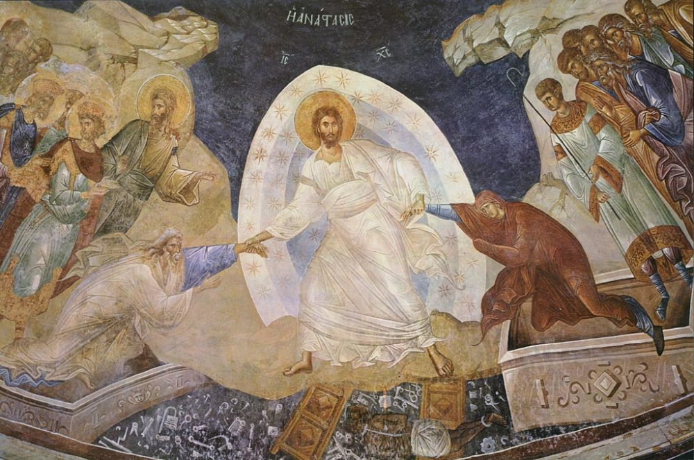 Κύριος Ἰησοῦς Χριστός-Ὑπεραγία Θεοτόκος